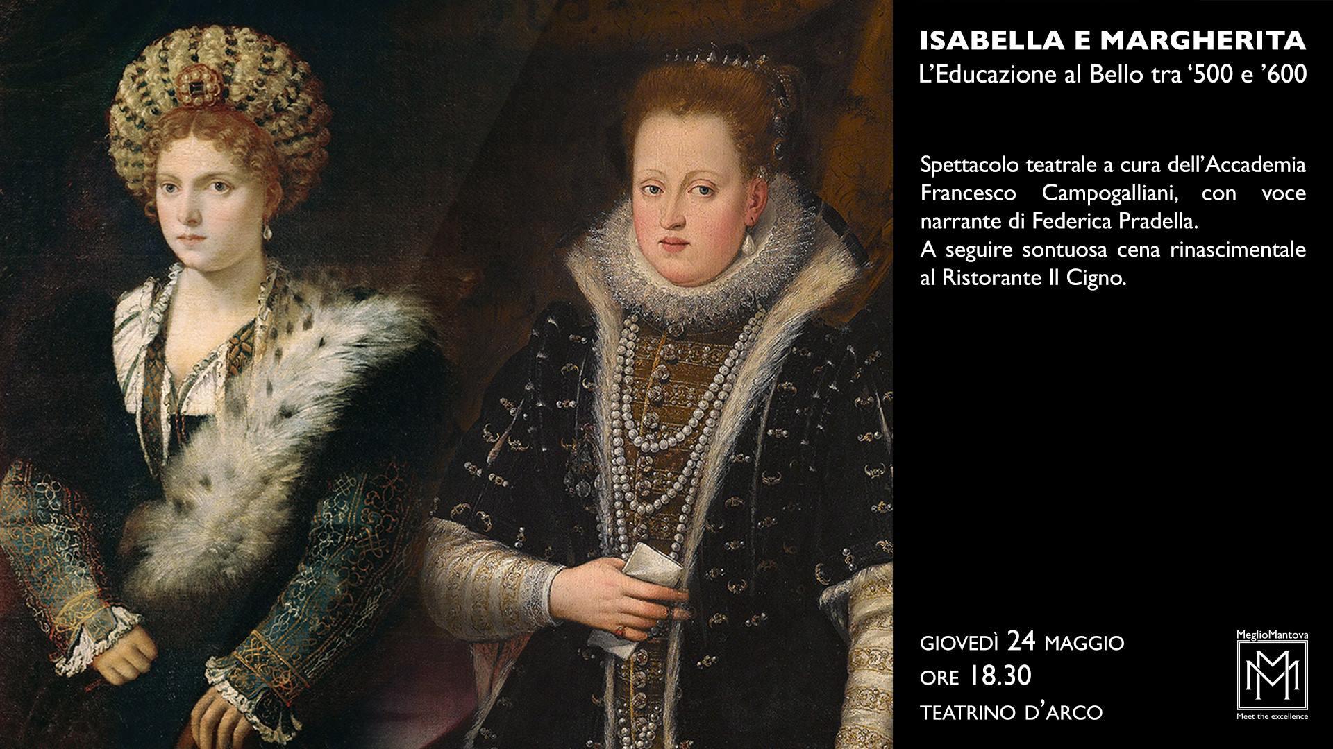 Isabella e Margherita - L'educazione al bello tra '500 e '600